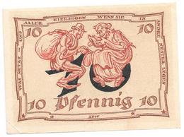 **notgeld Arnstadt 10 Pfennig 43.1/N - [11] Emissions Locales