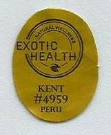 # MANGO.KENT Plu Code 4959 -  PERU, Fruit Sticker Label Etiquette Etiqueta Adhesive Aufkleber Fruta Frucht - Fruits & Vegetables