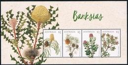 Australie - Fleurs : Banksias BF 247 (année 2018) ** - Blocs - Feuillets