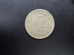ANGOLA : 2.½ ESCUDO  1953    KM 77     TTB - Angola