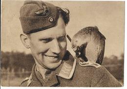 """Wehrmacht  - Luftwaffe  - Carte D'un Calendrier """"Der Adler"""" - War 1939-45"""