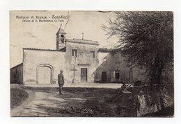 Scandicci (Firenze) - Chiesa Di San Bartolomeo In Tuto - Viaggiata Nel 1925 - (FDC15190) - Firenze