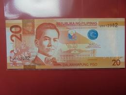 PHILIPPINES 20 PISO 2012 PEU CIRCULER/NEUF - Philippines