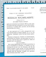 Bp    Nauwelaerts   Ijskout   Hulshout   Leuven - Imágenes Religiosas