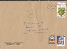 SOGNEPRÆSTEN, GJELLERUP Sogn HAMMERUM Herning VESTJYLLANDS POSTCENTER 1995 Cover Tycho Brahe Blå Kors Advent Vignette - Dänemark