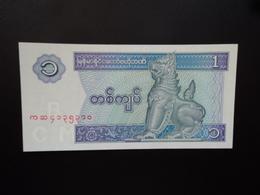 MYANMAR : 1 KYAT  ND 1996   P 69    NEUF - Myanmar