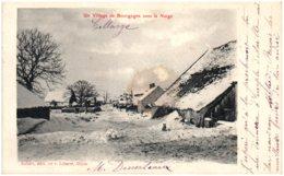 21 COLLONGES - Un Village De Bourgogne Sous La Neige - France