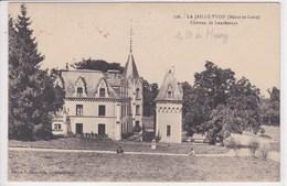 49 LA JAILLE YVON Château De Loncheraye ,généalogie , Propriétaire Conte De Messey - France
