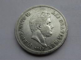 Italië, Napels En Sicilië - Ferdinandus II - 120 Grana 1843 - Regionale Munten