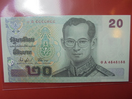 THAILANDE 20 BAHT 2003 PEU CIRCULER/NEUF - Thaïlande