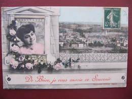 CPA - DE BRIVE JE VOUS ENVOIE CE SOUVENIR - Brive La Gaillarde