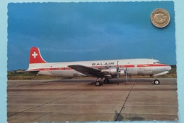 Douglas DC-6B Der Balair , Schweiz - 1946-....: Moderne