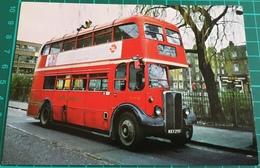 60 A.E.C. Regent Mk III (RLH) Lowbridge Bus At Clapton Pond - Buses & Coaches