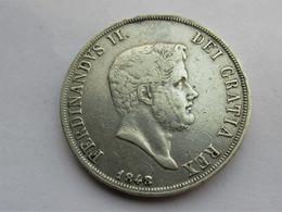 Italië, Napels En Sicilië - Ferdinandus II - 120 Grana 1848 - Regionale Munten