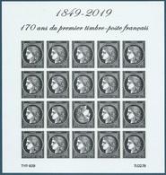 Feuillet N°F5305 Cérès - 170 Ans Du Premier Timbre-poste Français Neuf** - Mint/Hinged