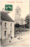 21 VIEVY - Mairie Et église - Altri Comuni