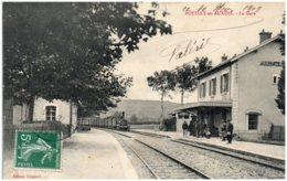 21 POUILLY-en-AUXOIS - La Gare - Other Municipalities