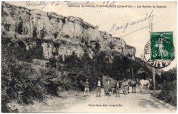 21 Environs De POUILLY-en-AUXOIS - Les Roches De Beaume - Autres Communes