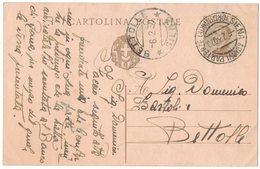 AN138  Regno 1930 Cartolina Postalei Da Siena Per Bettolle - 1900-44 Vittorio Emanuele III