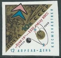 1966 RUSSIA SPAZIO LUNA 10 ND MNH ** - UR6 - Ongebruikt