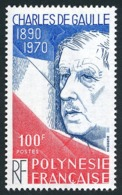 POLYNESIE 1980 - Yv. 159 ** TB  Cote= 6,10 EUR - Général De Gaulle  ..Réf.POL23880 - French Polynesia