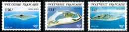POLYNESIE 1981 - Yv. 171 172 173 **   Faciale= 2,55 EUR - Iles-Sous-le-Vent (3 Val.)  ..Réf.POL23887 - Neufs