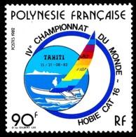 POLYNESIE 1982 - Yv. 184 **   Cote= 3,40 EUR - Voiliers Hobie Cat 16  ..Réf.POL23895 - Neufs