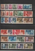 AEF 1937-42 Série 33 à 62 31 Val Neuf ** MNH - A.E.F. (1936-1958)