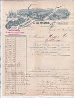 69-Brasseries De La Meuse Lyon (Rhône) 1899 - France