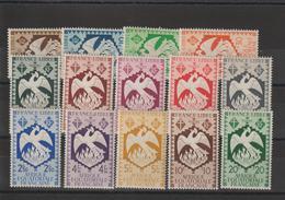 AEF 1941 Série 141 à 154 14 Val Neuf ** MNH - A.E.F. (1936-1958)