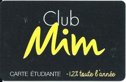 Carte Cadeau - Fidélité - Mim... - GIFT CARD /GESCHENKKARTE - Cartes Cadeaux