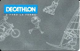 Carte Cadeau - Fidélité - Décathlon  - GIFT CARD /GESCHENKKARTE - Cartes Cadeaux
