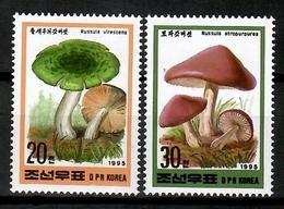 Korea 1995 Corea  / Mushrooms MNH Pilze Setas Champignons / Cu12535  41-9 - Hongos