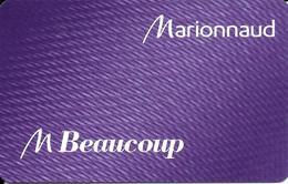Carte Cadeau - Fidélité - Marionnaud - GIFT CARD /GESCHENKKARTE - Cartes Cadeaux