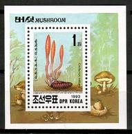 Korea 1993 Corea  / Mushrooms MNH Pilze Setas Champignons / Cu12720  36 - Hongos