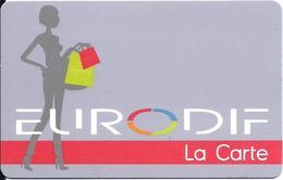Carte Cadeau - Fidélité - Eurodif - GIFT CARD /GESCHENKKARTE - Cartes Cadeaux