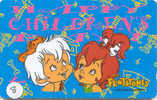 FLINTSTONES Cartoon - Comics Sur Telecarte (8) - BD