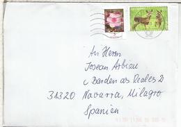 ALEMANIA CC BRIEFZENTRUM 93 SELLO FAUNA MAMIFERO - Animalez De Caza