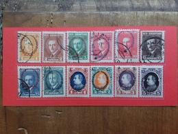 ALBANIA 1927 - Governo Presidenziale Nn. 151A/161A + 154B Timbrati/nuovi * + Spese Postali - Albania