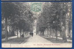 SEZANNE     Promenade Des Cordeliers   Animées    écrite En 1906 - Sezanne
