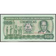 TWN - MOZAMBIQUE 130c - 100 Meticais 16.6.1989 Prefix AA UNC - Mozambico