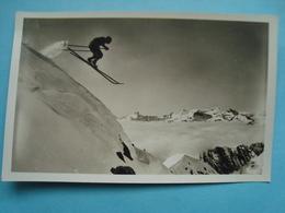 74 - Chamonix Mont Blanc - CPSM - Saut De Ski - Chamonix-Mont-Blanc
