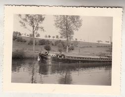 Canal Arquennes - Péniche - Photo Format 7 X 10 Cm - Boats