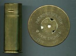 101 SR Maxim Pom-Pom - PATRONENFABRIK KARLSRUHE 1918 - Segments Courts - Armi Da Collezione