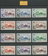 Grande Série Coloniale 1954 . 10è Anniversaire De La Libération. Neufs ** (MNH) - 1954 10e Anniversaire De La Libération