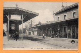 La Fleche La Gare France 1910 Postcard - La Fleche