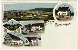BÖHRINGEN 1922 Lithografie - Autres