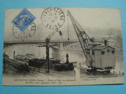 92 - Gennevilliers - Pont Et Port - Usine à Gaz - 1932 - Gennevilliers