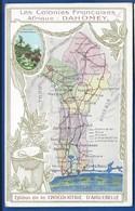 Les Colonies FRANCAISES   Afrique: DAHOMEY - Cartes Géographiques