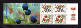 NORVEGE 1995 - CARNET Yvert C1129b - Facit H84b - NEUF** MNH - Flore, Baies Forestières - Booklets